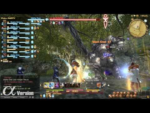 FINAL FANTASY XIV: A Realm Reborn - Levequests and Party Combat (Alpha)