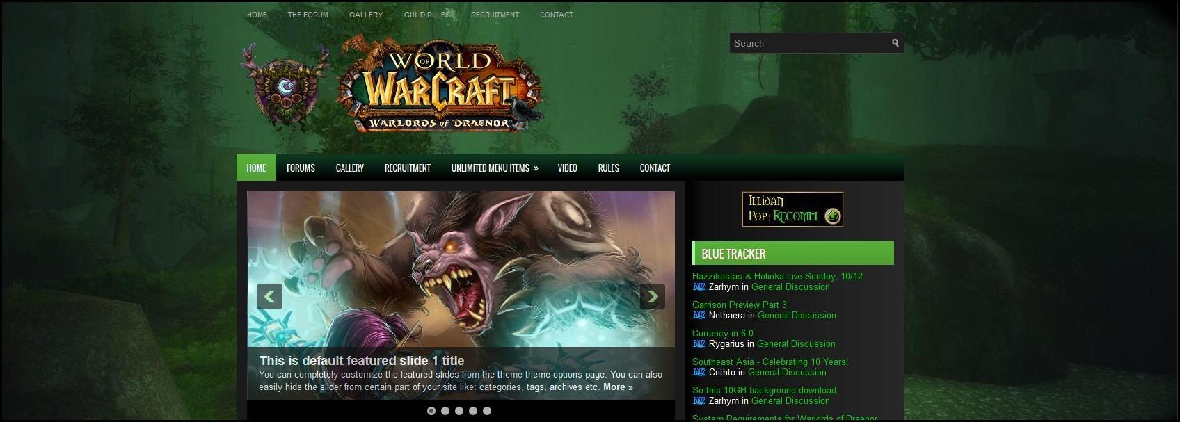 Druid-Warcraft
