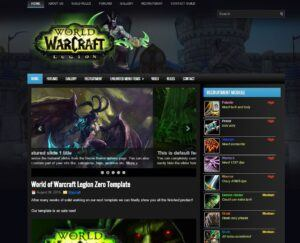 World of Warcraft Legion Blue