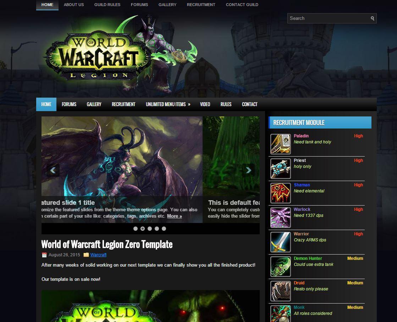 world of warcraft legion blue