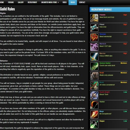 world of warcraft templates the shown world of warcraft templates