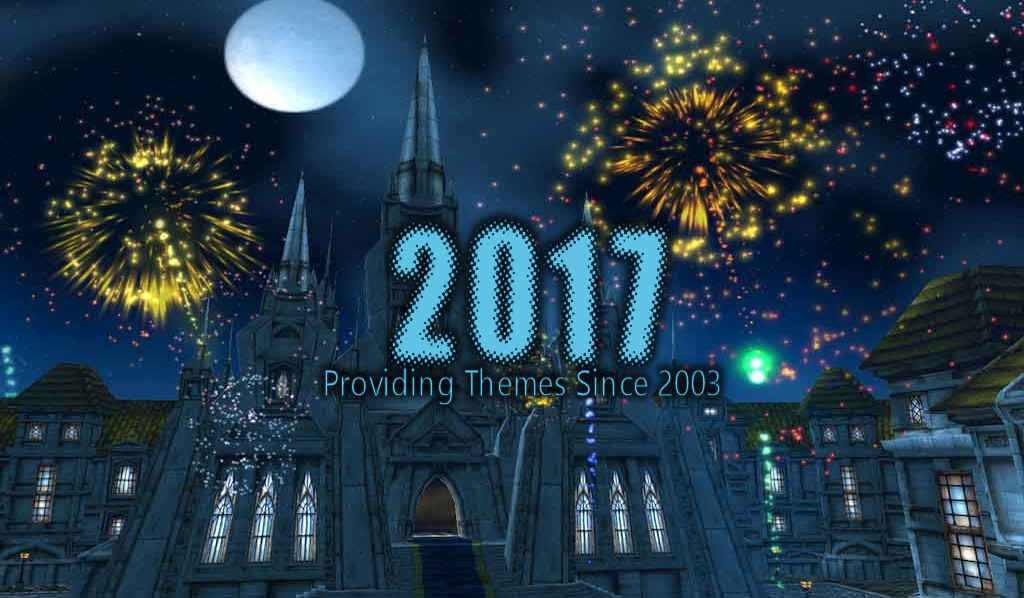 new year 2017 wordpress theme sale