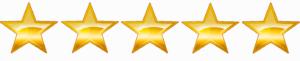 Wordpress Templates have 5 Star Ratings