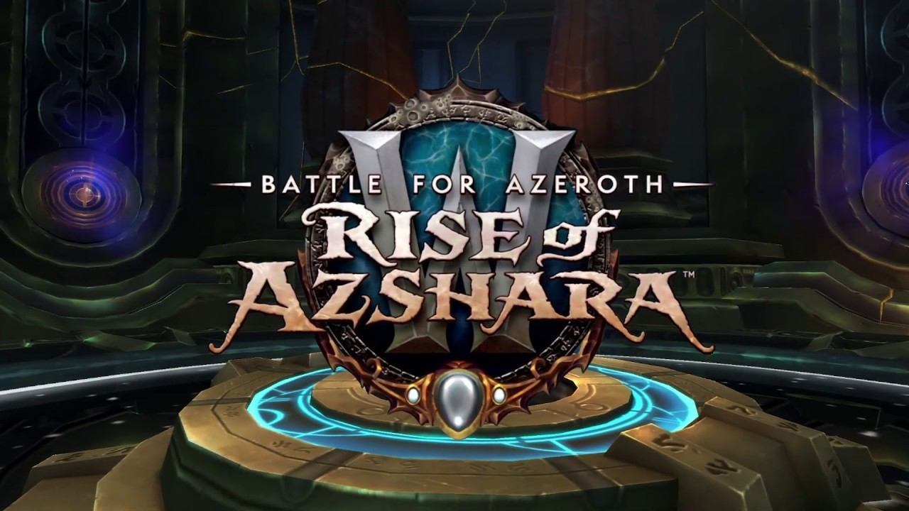 WoW 8.2 Rise of Azshara Wordpress Template sale for World first Race Method EU