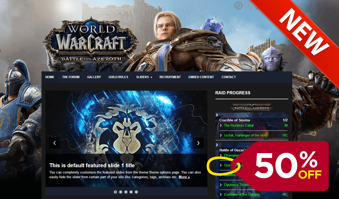 BFA – Ejeet Video Game Themes & Templates
