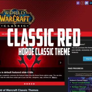 BFA Plus! ( Horde ) – Ejeet Video Game Themes & Templates